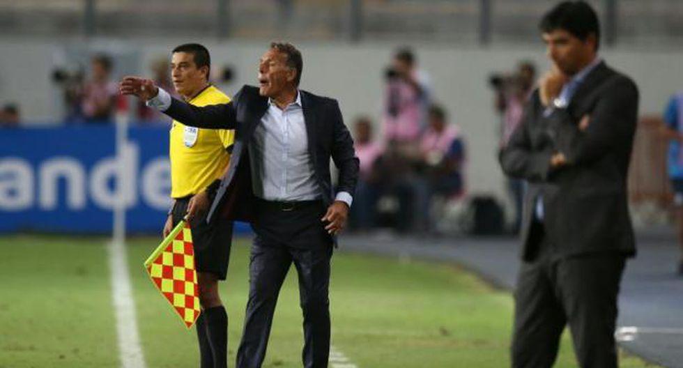 Miguel Ángel Russo en la conferencia de prensa, tras práctica de Alianza Lima. (Video: Jesús Mestas)