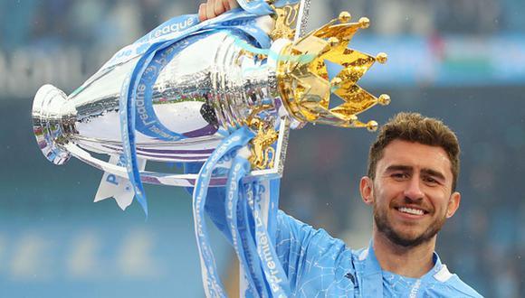 Laporte jugó en el Athletic Club antes de llegar al Manchester City. (Getty)