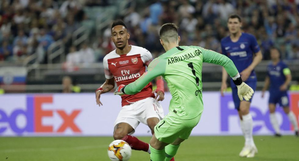Chelsea vs. Arsenal en Bakú por la final de la Europa League 2018-19. (Foto: AP)