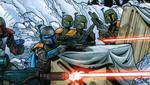 La guerra final entre ambos grupos finalmente resultó en la devastación del antiguo planeta natal de Mandalore. (Foto: Star Wars)