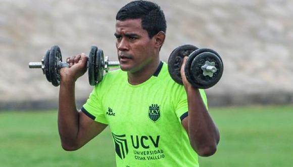 Jersson Vásquez juega ahora en Césaar Vallejo. (Prensa UCV)