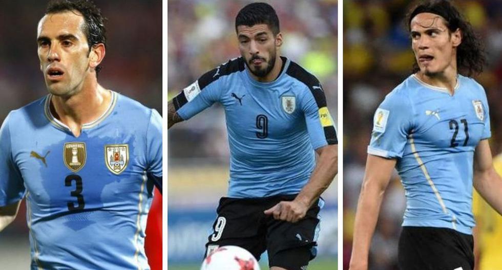 Uruguay integra el Grupo A en Rusia 2018. (AFP)