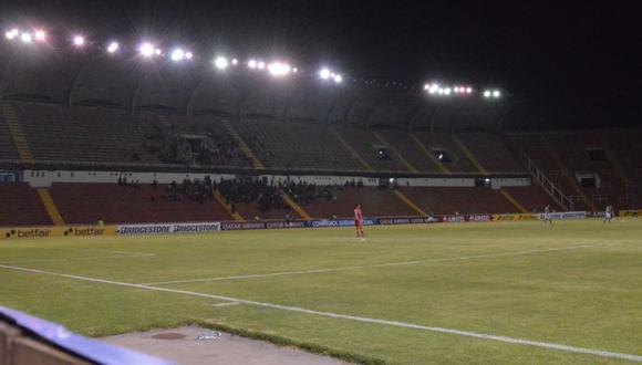 Cusco FC vs. Audax Italiano no contó con luminarias en oriente. (Foto: Alan Mayta)
