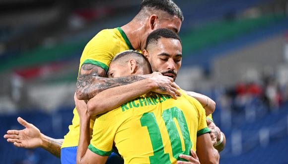 Brasil se metió a semifinales de Tokio 2020 tras vencer a Egipto por la mínima diferencia. (Foto: AFP)