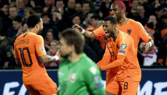 Holanda vs. Polonia: se enfrentan en Ámsterdam por la Liga de Naciones de la UEFA. (Foto: AFP)