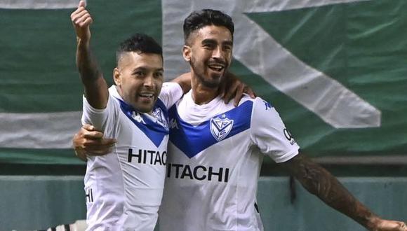 Vélez Sarsfield venció 1-0 a Barcelona SC en Liniers por la Copa Libertadores 2021. (Foto: AFP)
