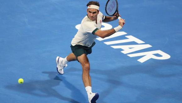 Roger Federer cayó en los cuartos de final del ATP 250 de Doha. (ATP Doha)