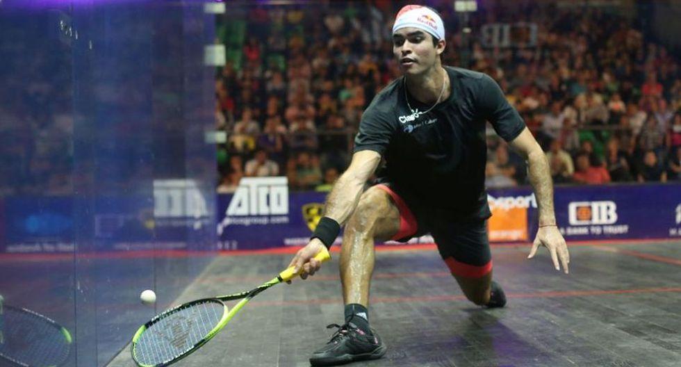 Squash: Diego Elías venció al galés Joel Makin y avanzó a los cuartos de final del Windy City Open en Estados Unidos. (PSA)