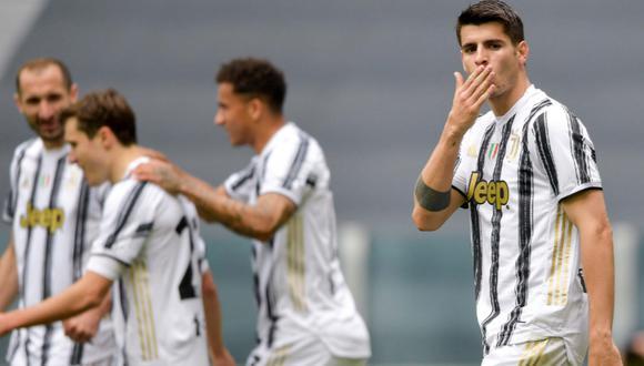 Juventus venció al Genoa por la fecha 30 de la Serie A. (Foto: Twitter Juventus)