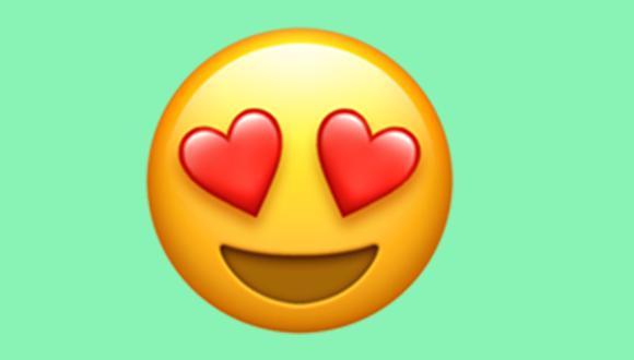 ¿Quieres saber realmente qué significa el emoji de la carita con ojos de corazón en WhatsApp? (Foto: Emojipedia)