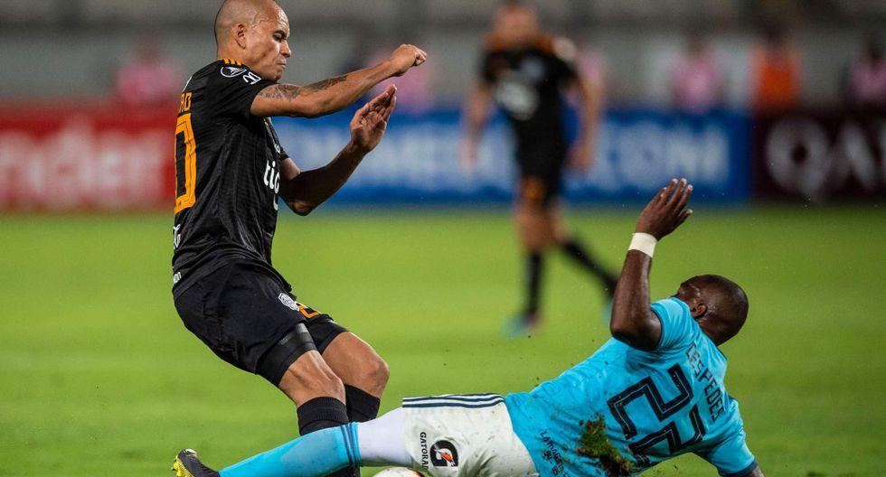 Sporting Cristal vs. Olimpia por la fecha 3 de la Copa Libertadores. (Foto: AFP)