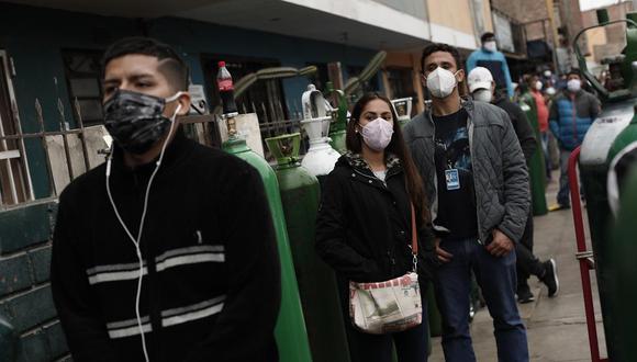 Primer ministro aseguró que a la fecha el abastecimiento de oxígeno medicinal en el país está garantizado. (Foto: Leandro Britto/ @photo.gec)