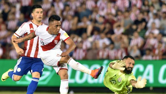 Cueva tiene 60 partidos en la 'era Gareca'. (AFP/NORBERTO DUARTE)