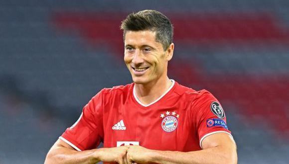 Robert Lewandowski tiene una marca de 307 goles y 66 asistencias en el Bayern Múnich. (Foto: Getty)
