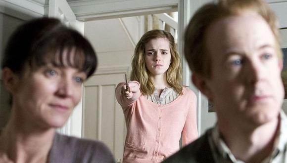 Hermione se vio obligada a borrarle la memoria a sus padres para protegerlos (Foto: Warner Bros.)