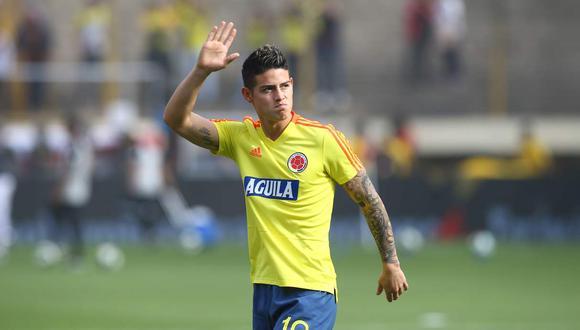 James Rodríguez también jugó en el Real Madrid y Bayern Munich. (GEC)