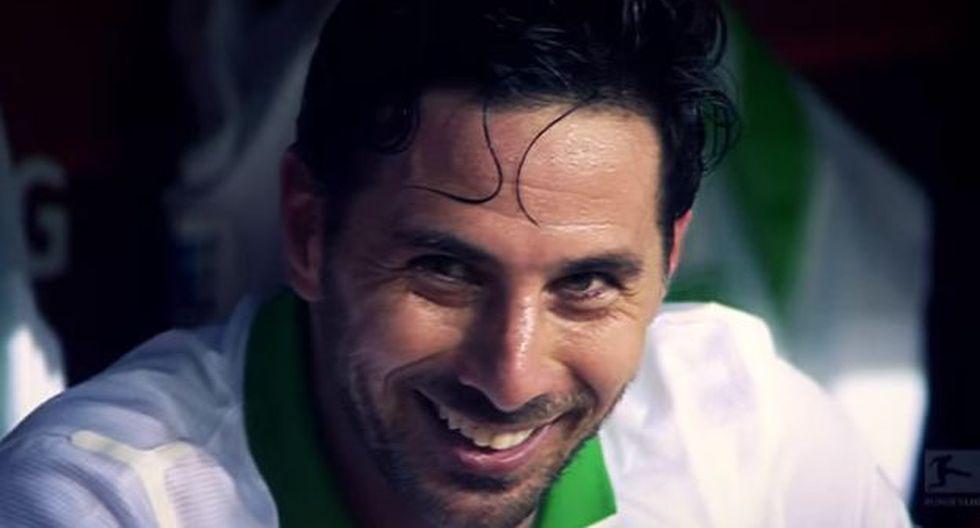 Bundesliga recuerda todos los tripletes de Claudio Pizarro en Alemania. (Bundesliga)
