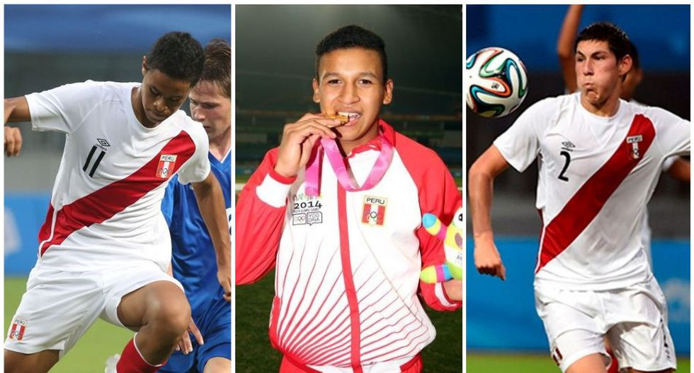 Olivares, Pacheco y Saravia también coincidieron en la Selección Peruana Sub 17 y Sub 20. (Diseño: Depor)