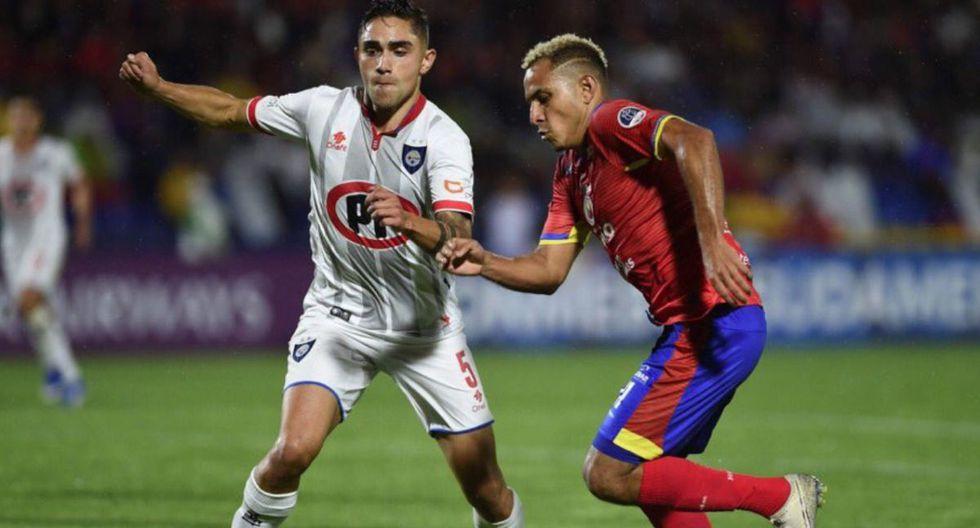 Huachipato clasificó a la Fase 2 de la Copa Sudamericana 2020 tras vencer a Deportivo Pasto a domicilio.