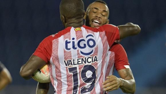 Junior se metió a la pelea en el Grupo A de la Copa Libertadores. (Foto: Conmebol)