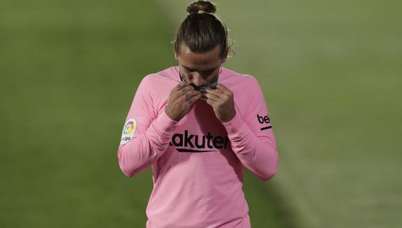 Antoine Griezmann llegó al Barcelona en 2019 desde Atlético de Madrid. (AFP)