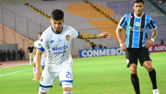Mineros cayó 3-2 ante Sportivo Luqueño por el partido de ida de la Fase 1 de la Copa Sudamericana 2020. (Foto: Twitter)