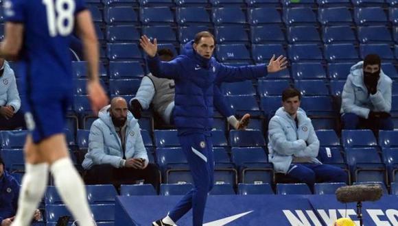 Thomas Tuchel clasificó a los cuartos de final con Chelsea FC. (Foto: EFE)