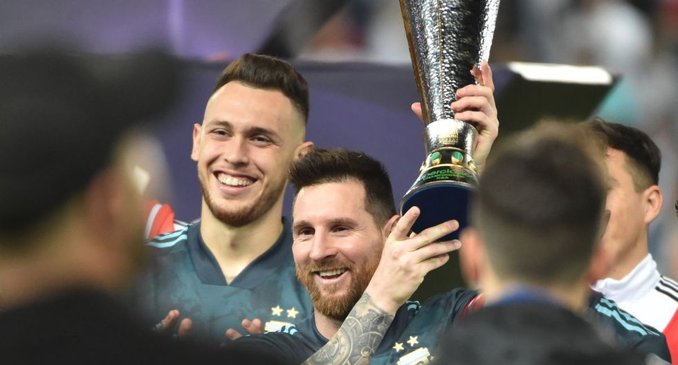Lionel Messi volvió a disputar un partido con la selección de Argentina luego de cuatro meses. (Foto: AFP)