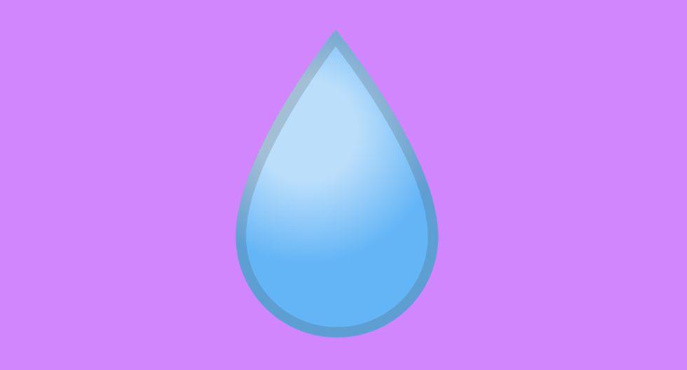¿Te has percatado del emoji de la gotita? Conoce cuál es su significado en WhatsApp. (Foto: WhatsApp)