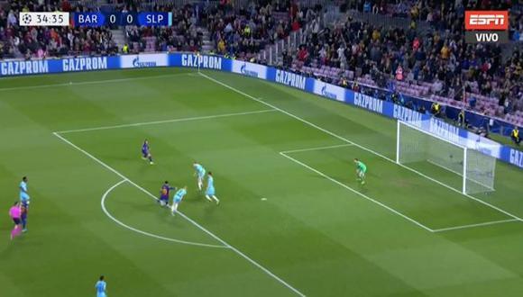 Barcelona vs Slavia Praga
