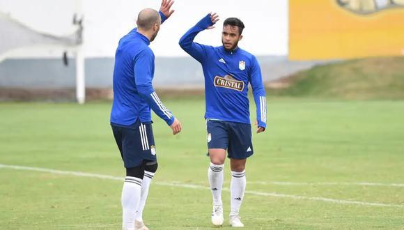 Marchán ya está al 100% para los próximos partidos de Sporting Cristal. (Foto: Prensa SC)