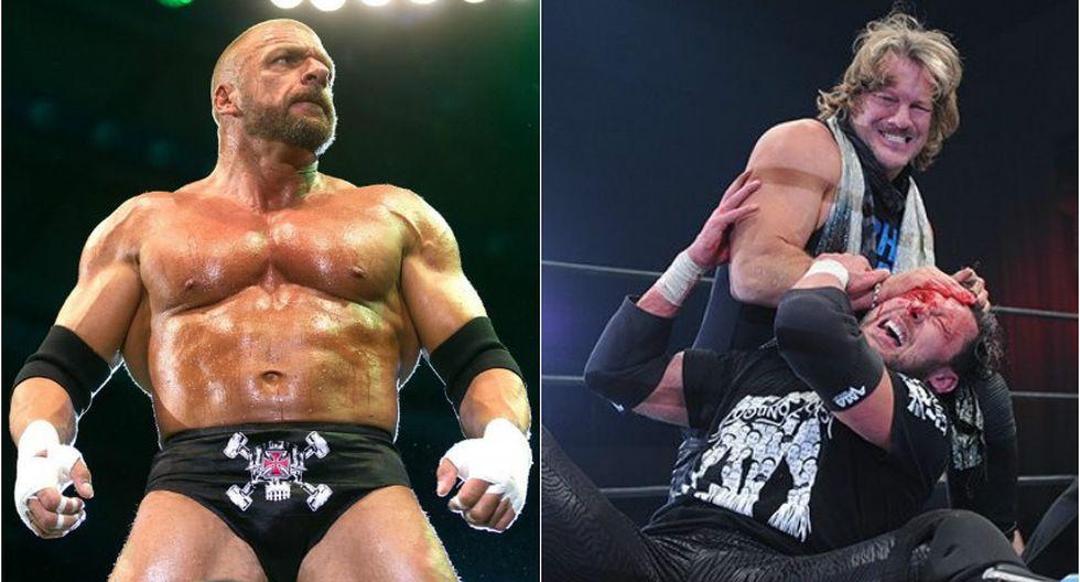 Triple H se refirió a la rivalidad que está iniciando Jericho con Omega en NJPW. (WWE)