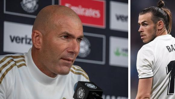 Zinedine Zidane y Gareth Bale ganaron tres Champions League juntos en Real Madrid. (AFP)