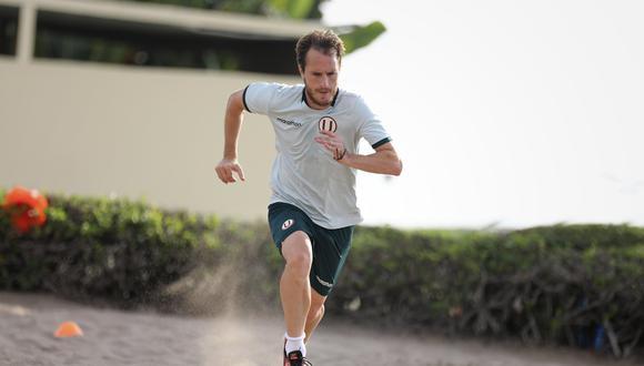 Hernán Novick ya registra 15 partidos en la temporada (Liga 1). (Foto: Prensa U)