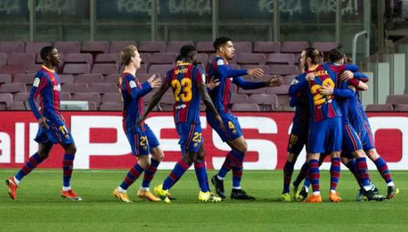 Barcelona vs. Athletic Club en Camp Nou por LaLiga Santander. (Foto: Barcelona)