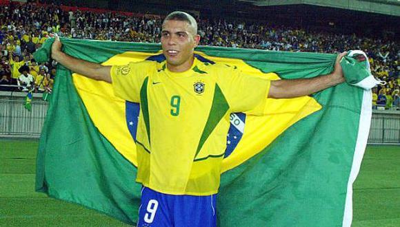 Ronaldo Nazario fue campeón con la Selección de Brasil en el Mundial Corea-Japón 2002. (Foto: Getty Images)