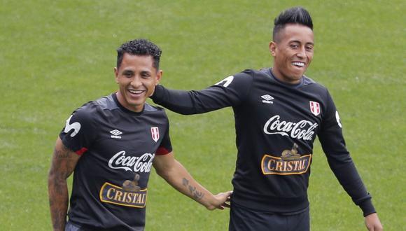 Yoshimar Yotún y Christian Cueva entre los jugadores con más partidos jugados en la 'Era Gareca'. (Foto: USI)