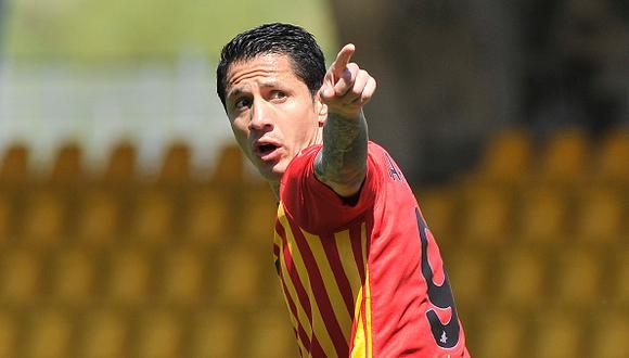 Gianluca Lapadula llegó al Benevento en el 2020 y tiene contrato con el club hasta 2023. (Foto: Getty)