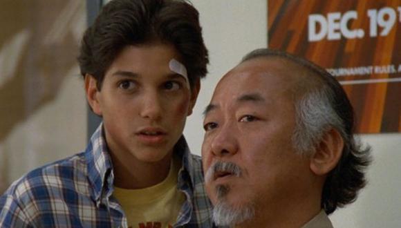 Pat Morita iniciósu carrera actoral cuando tenía más de 30 años (Foto: Sony Pictures Home Entertainment)