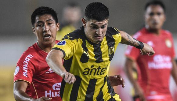Sport Huancayo igualó 0-0 ante Peñarol por Copa Sudamericana (Foto: AFP)