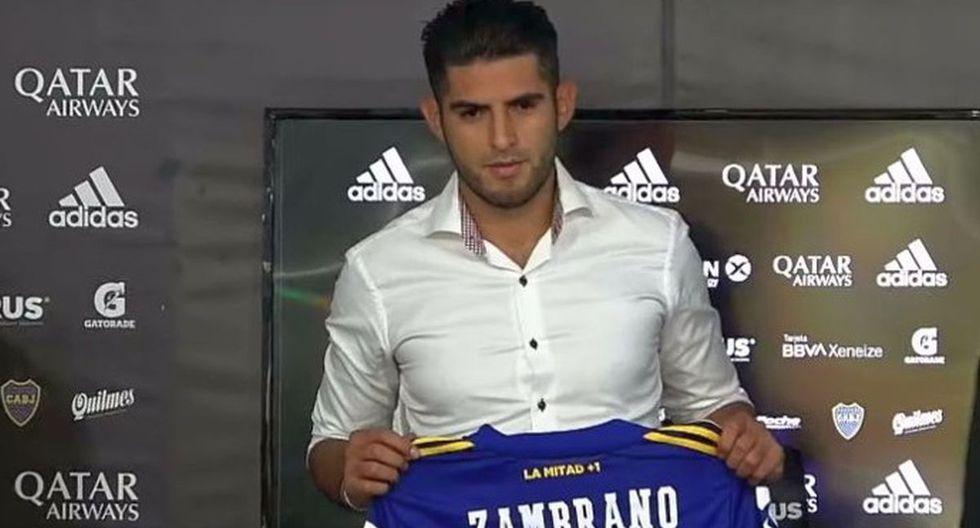 Carlos Zambrano firmó por Boca Juniors en este último mercado de fichajes, proveniente del Dinamo Kiev ucraniano. (Foto: Agencias)