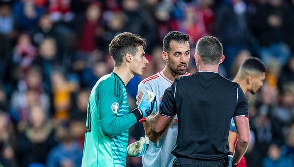 Kepa es habitual convocado por España desde el 2018. (Getty)
