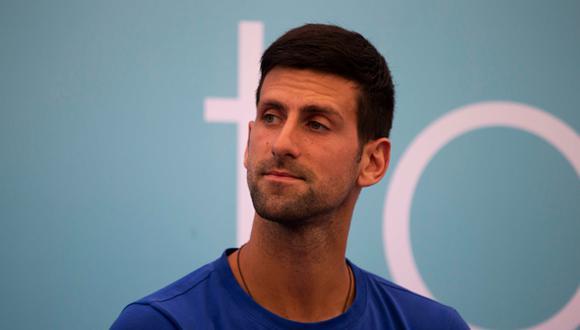 'Nole' es el actual líder de la clasificación ATP. (Getty Images)
