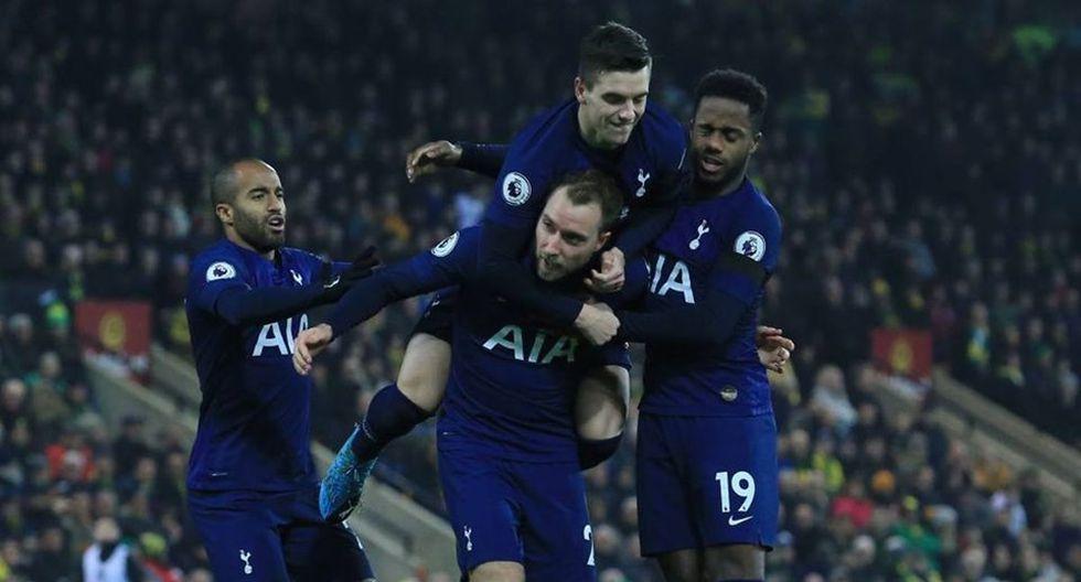 9. Tottenham – 1496 millones de euros.