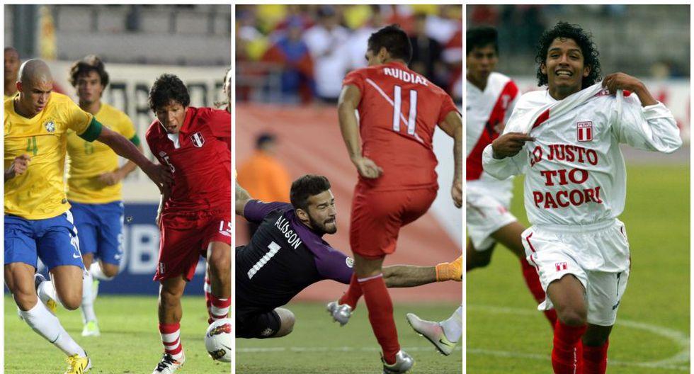 La Selección Peruana adulta le ganó dos veces a Brasil en los últimos cinco años. (Diseño: Depor)