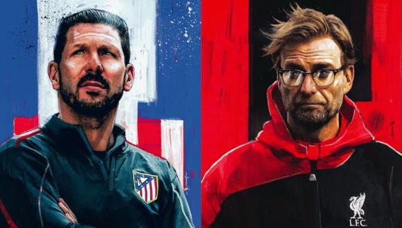 Atlético de Madrid vs. Liverpool es el duelo más prometedor de los octavos de la Champions.