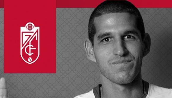 Abram llegó a Granada tras su paso por Vélez Sarsfield. (Foto: prensa Granada)