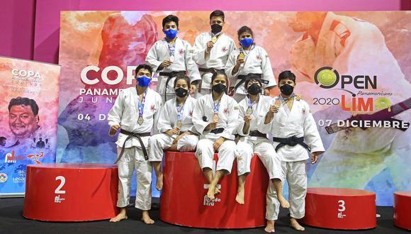 Perú sumó ocho medallas en el Panamericano Junior de Judo en la VIDENA