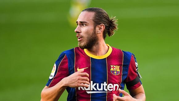 Óscar Mingueza tiene contrato con el FC Barcelona hasta el 30 de junio de este año. (Getty)