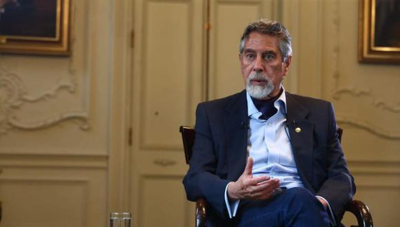"""El presidente señaló que no es necesario elegir entre """"salud y economía"""". (Foto: GEC)"""